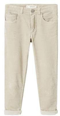 MANGO Slim-fit corduroy trousers
