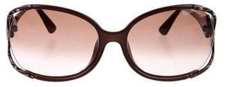 Emilio Pucci Square Embellished Sunglasses