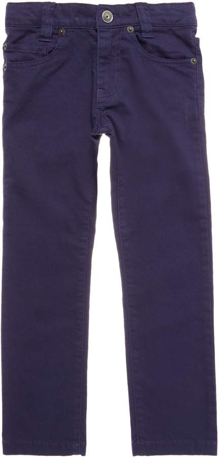 Boys Stretch Twill Trousers