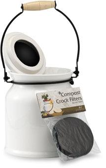 Ceramic Compost Pot