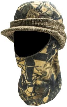 Quietwear QuietWear Camo Knit Fleece Visor With Drop-Down Mask - Men
