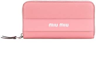 Miu Miu all-around zip wallet