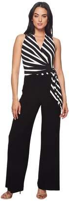 Lauren Ralph Lauren Ritanna Matte Jersey Jumpsuit Women's Jumpsuit & Rompers One Piece