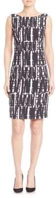 Milly Slim-Fit Sheath Dress