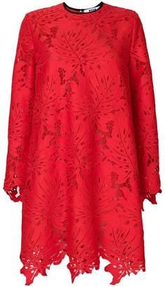 MSGM openwork lace dress