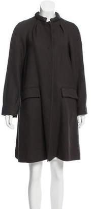 Proenza Schouler Wool Knee-Length Coat