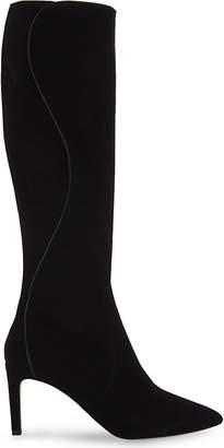 LK Bennett Lauran suede knee-high boots