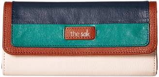 The Sak Iris Flap Wallet Wallet Handbags