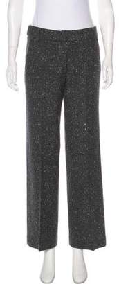 Peter Som Mid-Rise Wool Pants