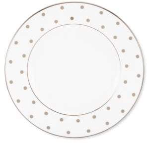 Kate Spade Larabee Road Platinum-Accented Bone China Salad Plate