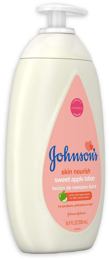 Johnson's Skin Nourish 16.9 oz. Sweet Apple Lotion