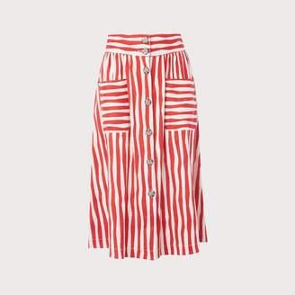 LK Bennett Annelin Red Skirt