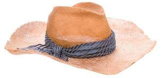 Eugenia Kim Bow-Accented Straw Hat