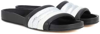 Isabel Marant Hellea leather slides