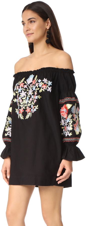 Free People Fleur Du Jour Mini Dress 20