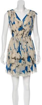 3.1 Phillip Lim Silk Pleated Dress
