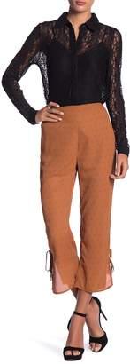 Honey Punch Cropped Print Pants