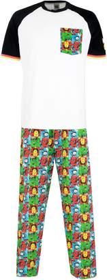 Marvel Comics Mens' Avengers Pajamas