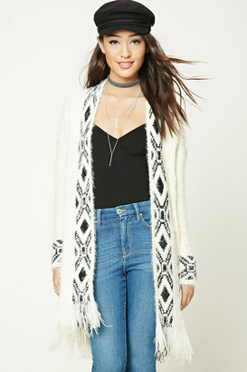FOREVER 21+ Tribal Print Cardigan $27.90 thestylecure.com