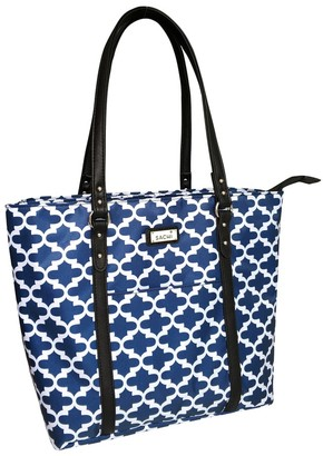 Sachi Insulated Two Tote Bag Moroccan Navy