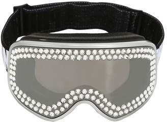 Philipp Plein Crystal Embellished Ski Mask