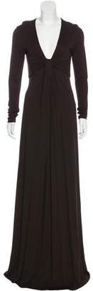 Michael Kors Gathered Maxi Dress
