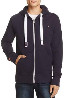 Superdry Orange Label Zip-Front Hoodie Sweatshirt