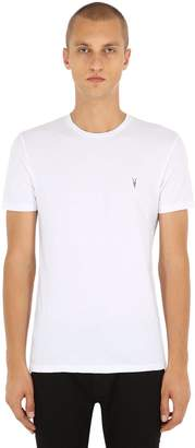 AllSaints Tonic Crew Cotton Jersey T-Shirt