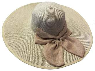 BEIGE Tu Anh Boutique Bow Sunhat