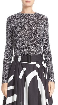 Women's Max Mara Diletta Graphic Print Jersey Tee $395 thestylecure.com