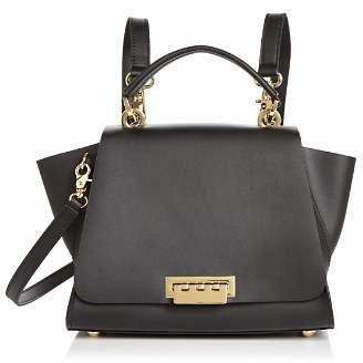 Zac Posen Eartha Iconic Top Handle Convertible Leather Backpack