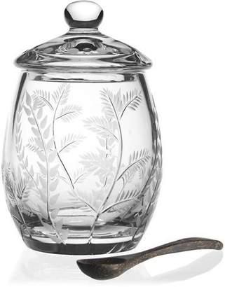 William Yeoward Fern Covered Honey Jar
