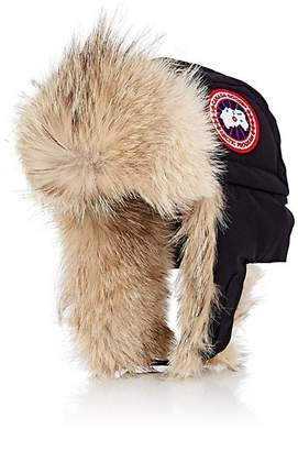 Canada Goose Men's Fur-Trimmed Down-Filled Aviator Hat - Navy