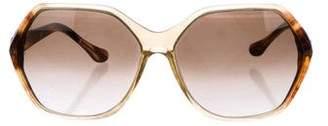Thakoon Hexagon Oversize Sunglasses