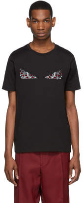 Fendi Black Bag Bugs Card Icon T-Shirt