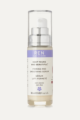 Ren Skincare Keep Young And Beautiful Firming And Smoothing Serum, 30ml - Colorless