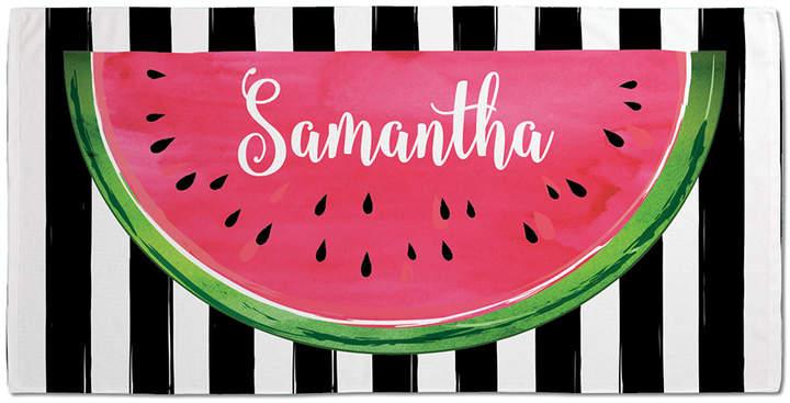 Watermelon Personalized Beach Towel