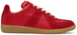 Maison Margiela SSENSE Exclusive Red Replica Sneakers