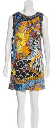 Philosophy di Alberta Ferretti Printed Mini Dress