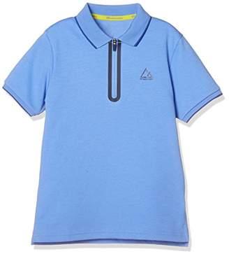 Giordano (ジョルダーノ) - (ジョルダーノ)GIORDANO 【GM】ハーフZIPポロシャツ GD18SM-03018201 011 ブルー 110