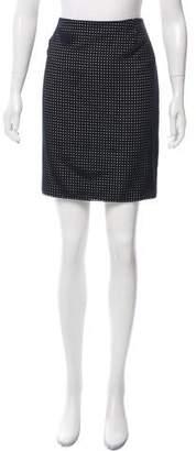 Akris Punto Perforated Mini Skirt