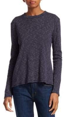 Derek Lam 10 Crosby Stripe Long Sleeve T-Shirt