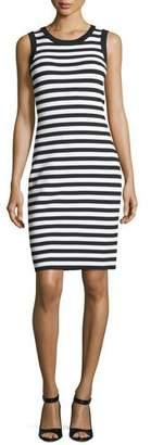 MICHAEL Michael Kors Striped Tank Dress