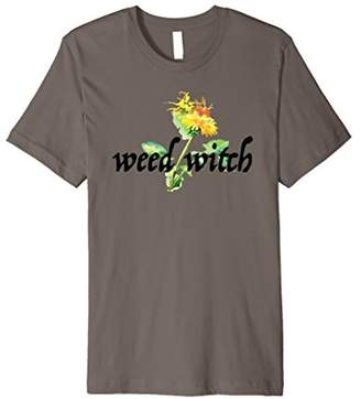 Weed Witch Watercolor Dandelion T-Shirt