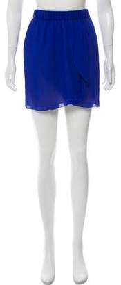 Giada Forte Wrap Mini Skirt w/ Tags