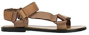 Vince Women's Parks Web & Leather Sandals
