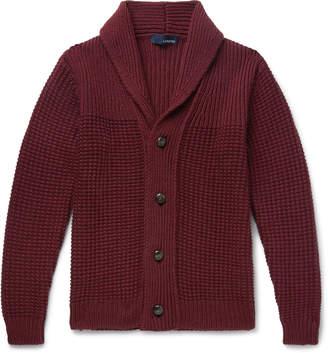 Lardini Shawl-Collar Wool Cardigan