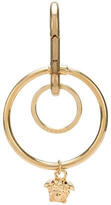Versace Medusa hoop keychain
