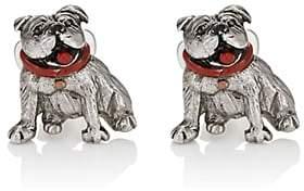 Barneys New York Men's Bulldog Cufflinks - Silver