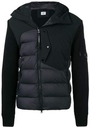 C.P. Company padded fitted jacket